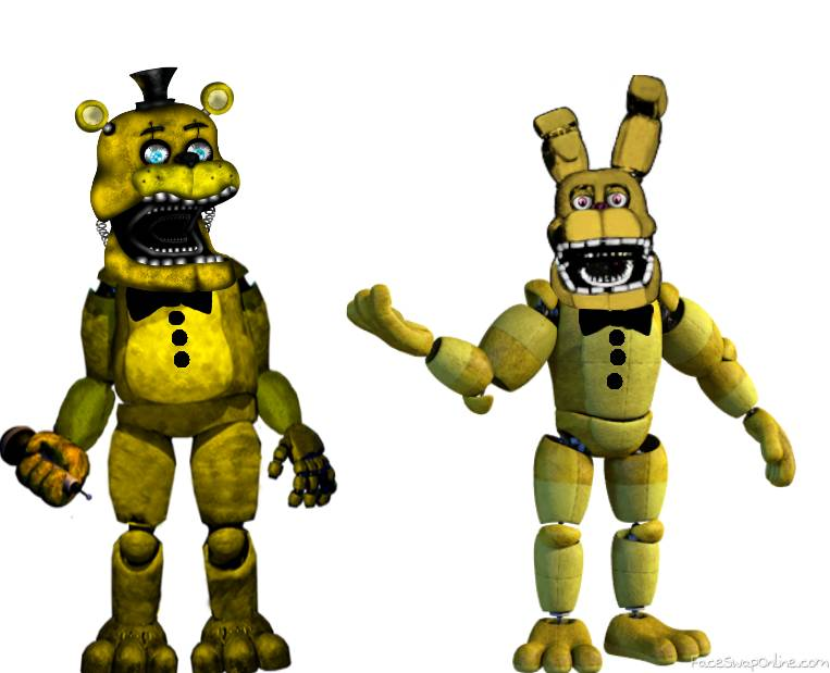 stage 01 Fred bear and Spring bonnie