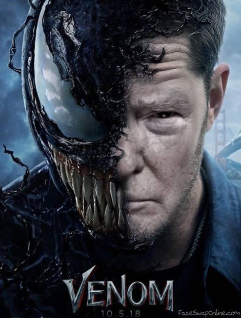 Behind the Venom Mask