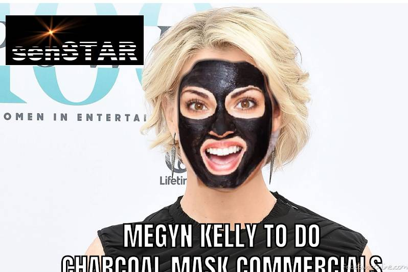 Megyn Kelly Charcoal Mask Commercials
