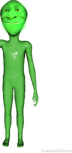 Shrek alien