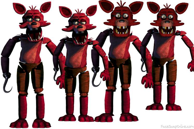4 Fnaf Foxy's