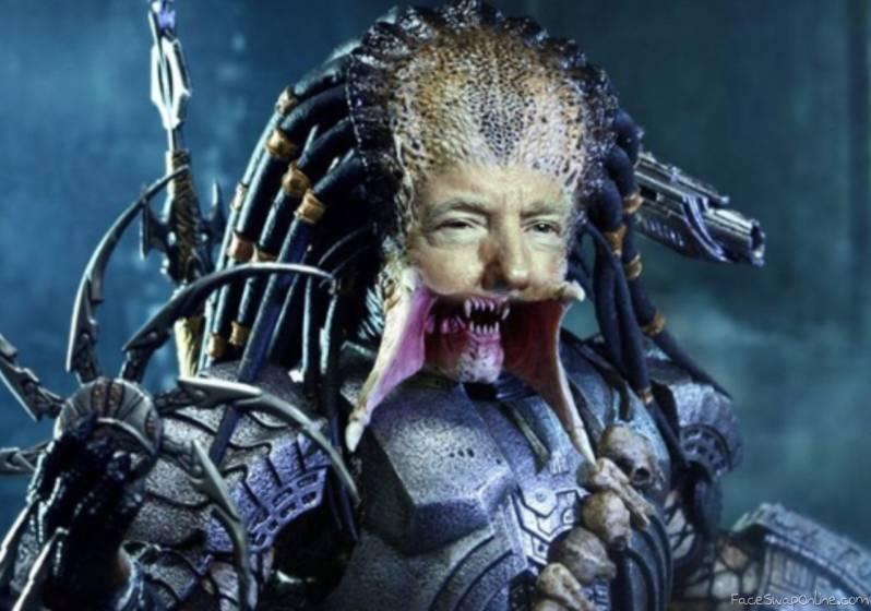 Trump starring in the next Predator movie