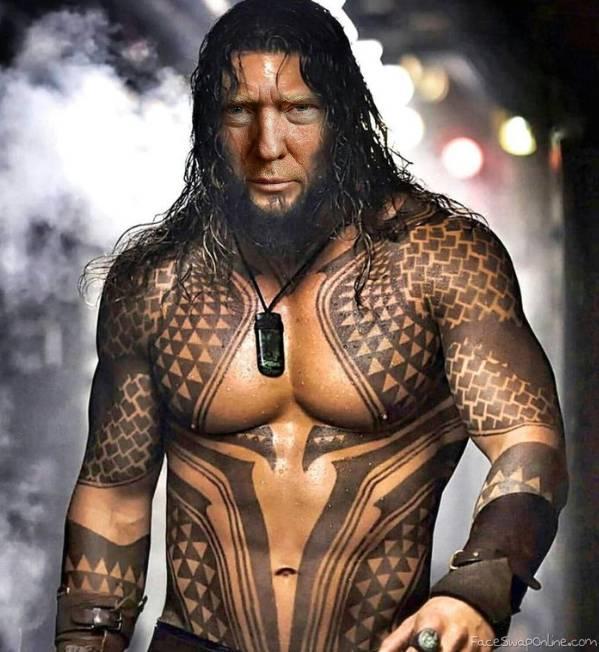 Aquaman Trump