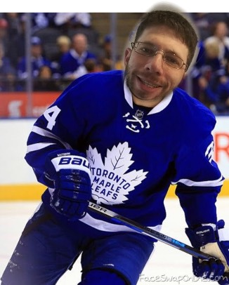 Maple Leafs Got a New Fan