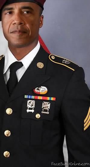 Soldier Obama