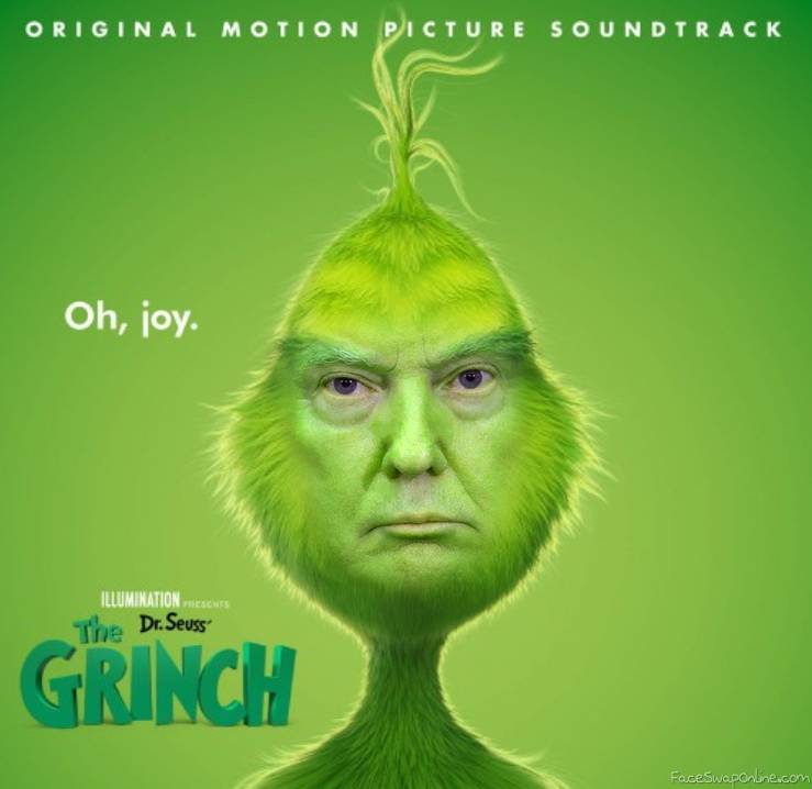 Trump Grinch Stole the Christmas