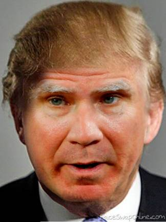 Will Ferrell in Trump and Trumper