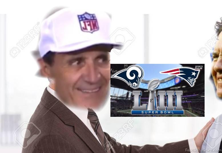 Patriots make Cheat Deal for Superbowl 53 v.s. Rams