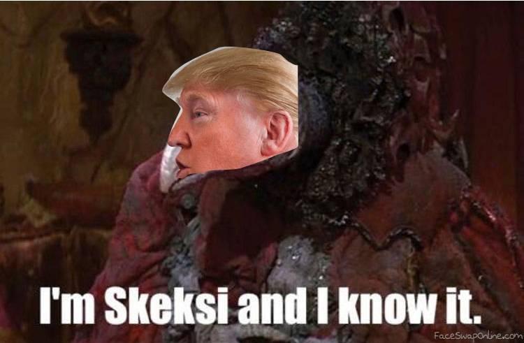Skeksi Trump