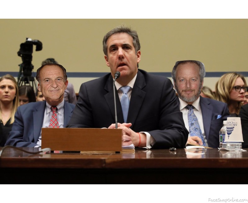 Cohen alone at congress