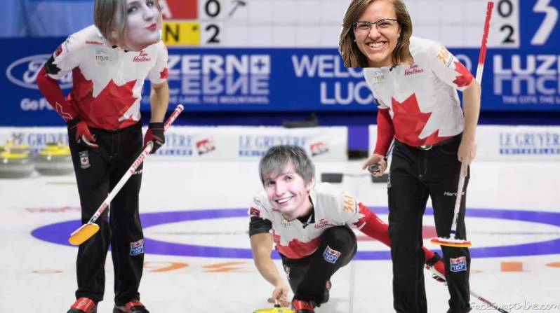 Curling is really fun
