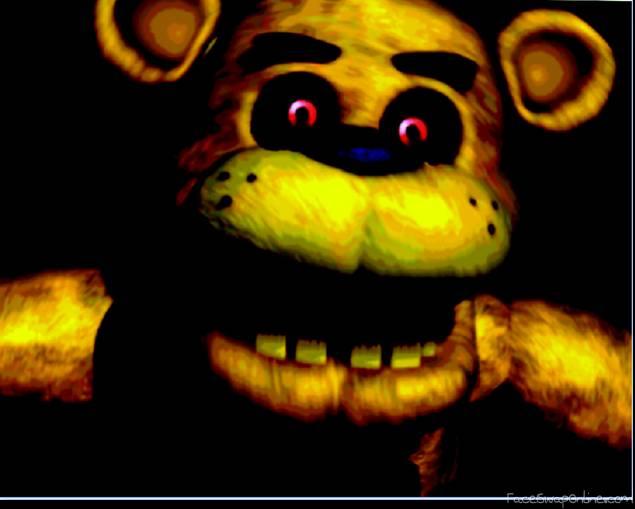 Fnaf 1 Fredbear Jumpscare