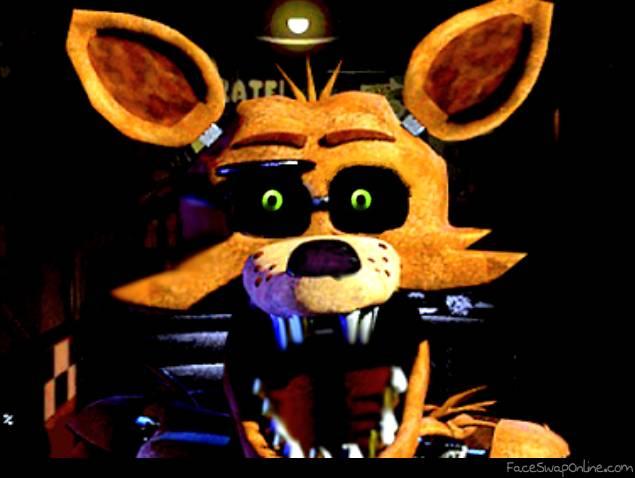 Fnaf 1 Golden Foxy Jumpscare