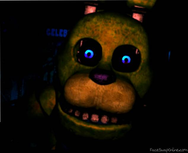 Fnaf 1 SpringBonnie Jumpscare