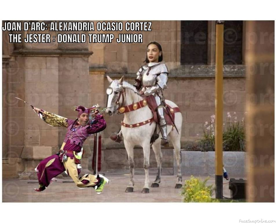 JOAN D'ARC AND THE JESTER