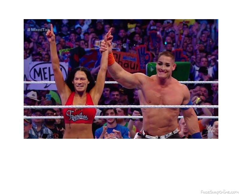John Bella and Nikki Cena