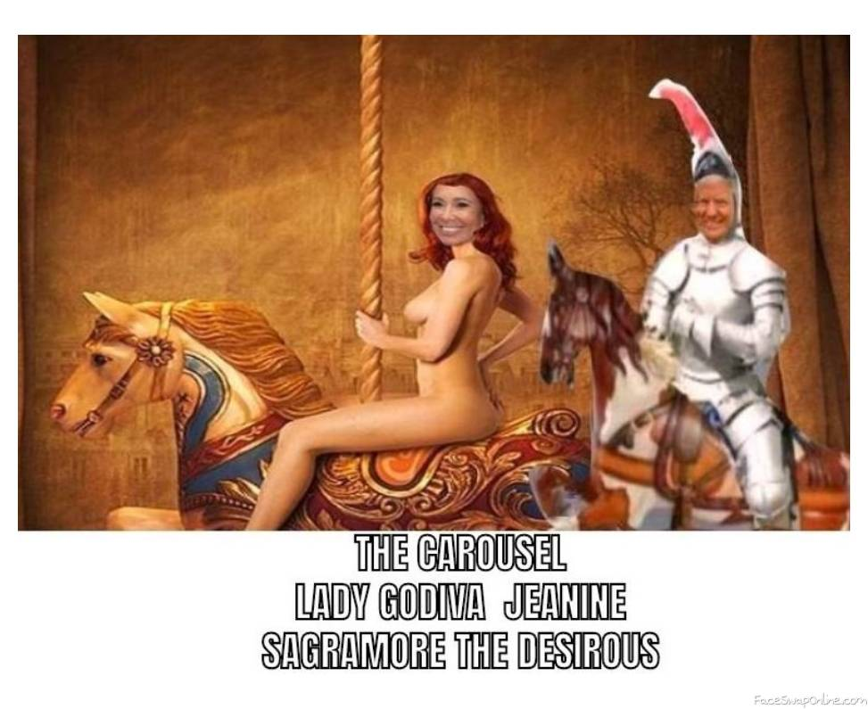 LADY GODIVA AND DONALD