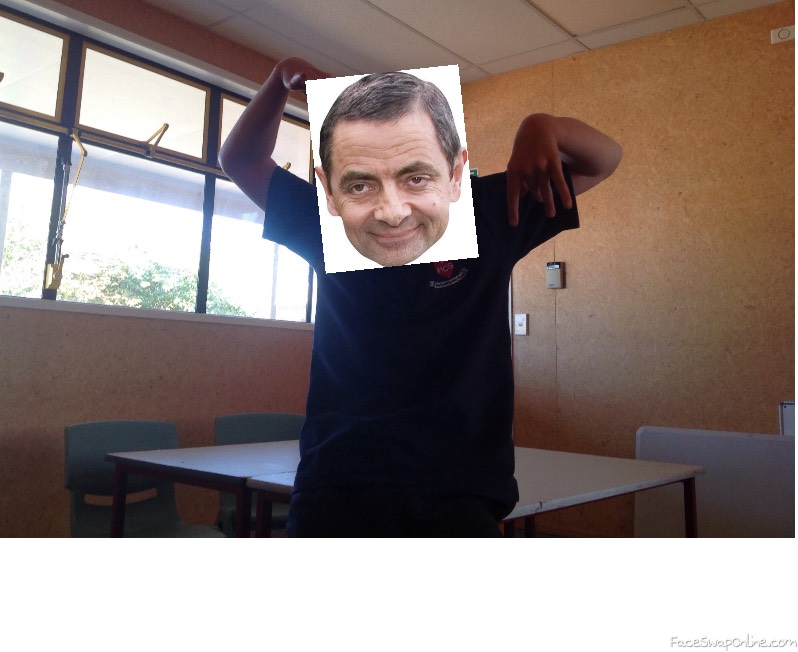 Mr Bean goes to school