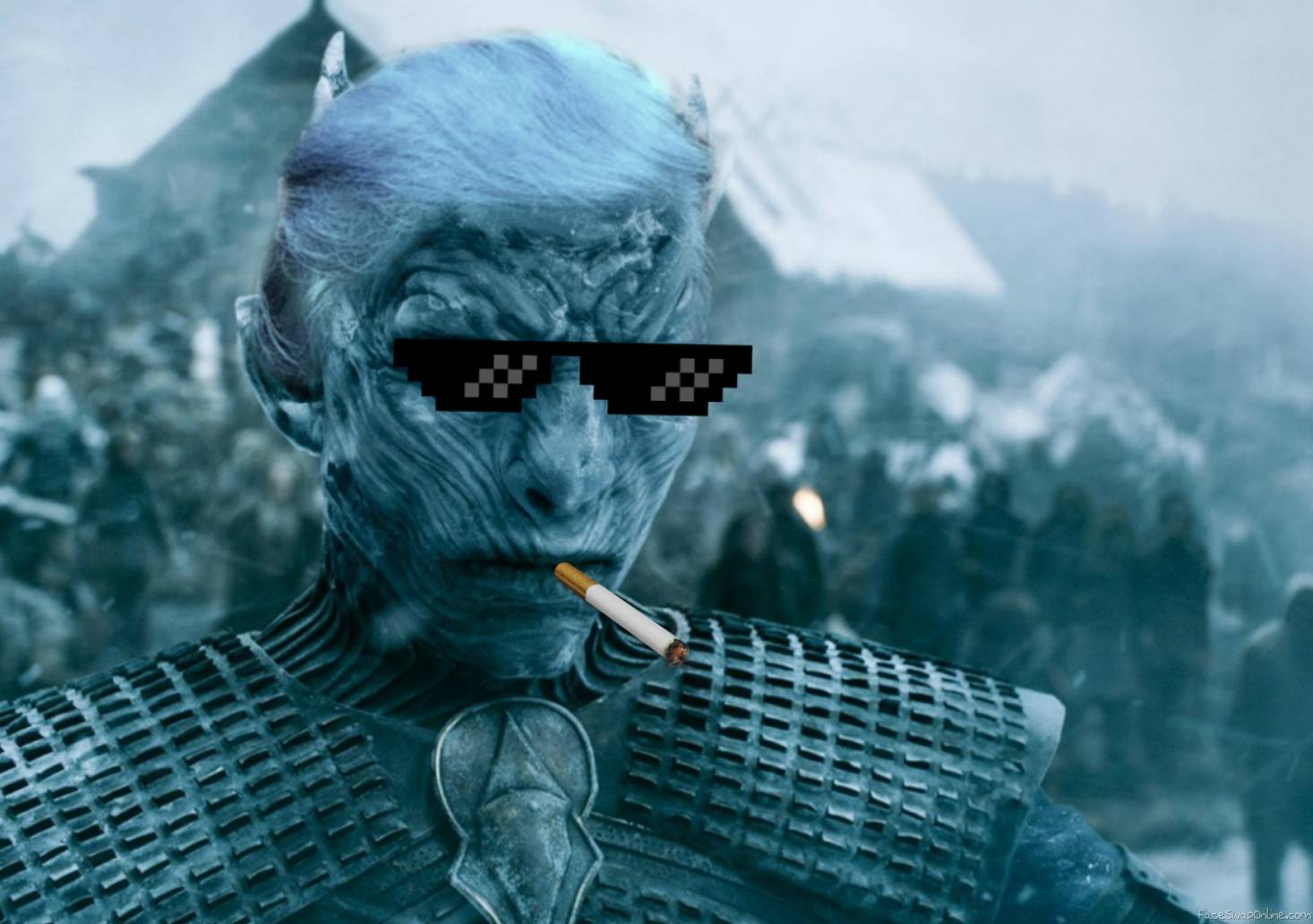 Night King behind the scenes