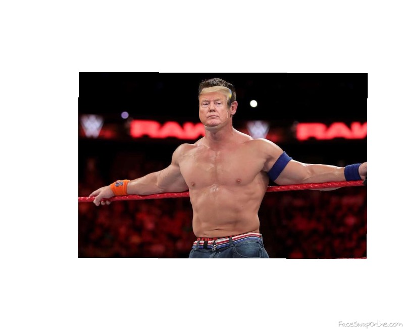 And his name is trump cena