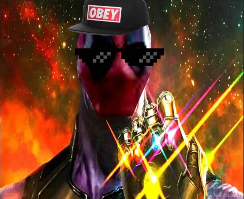 Dead Thanos