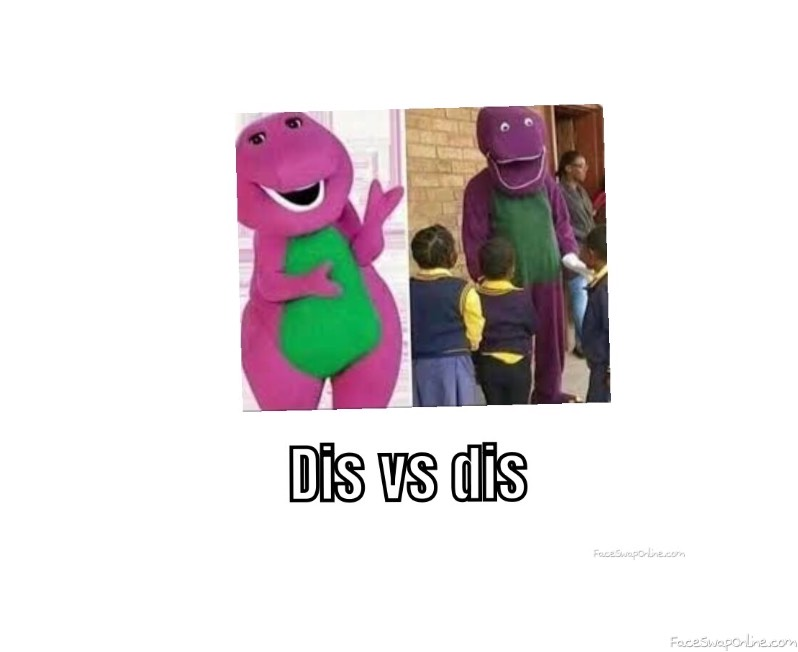 Dis vs dis