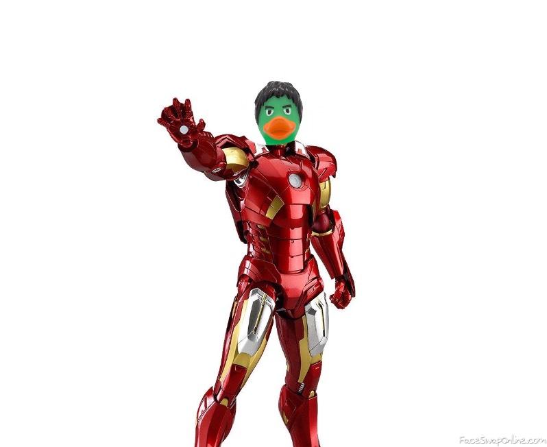 H iron man