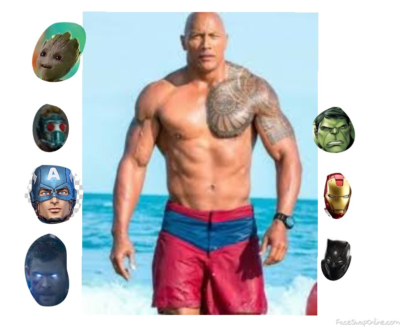 The rock is going marvel