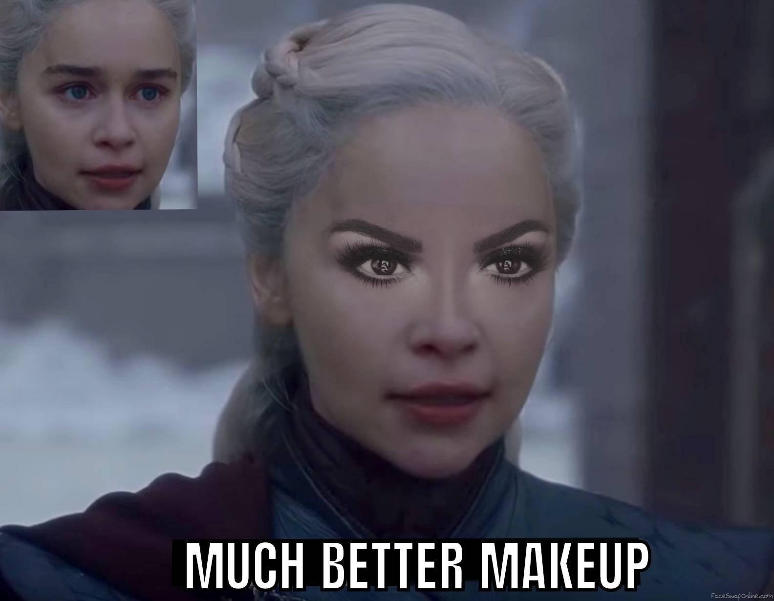 Daenerys Targaryen but with beautiful eyes