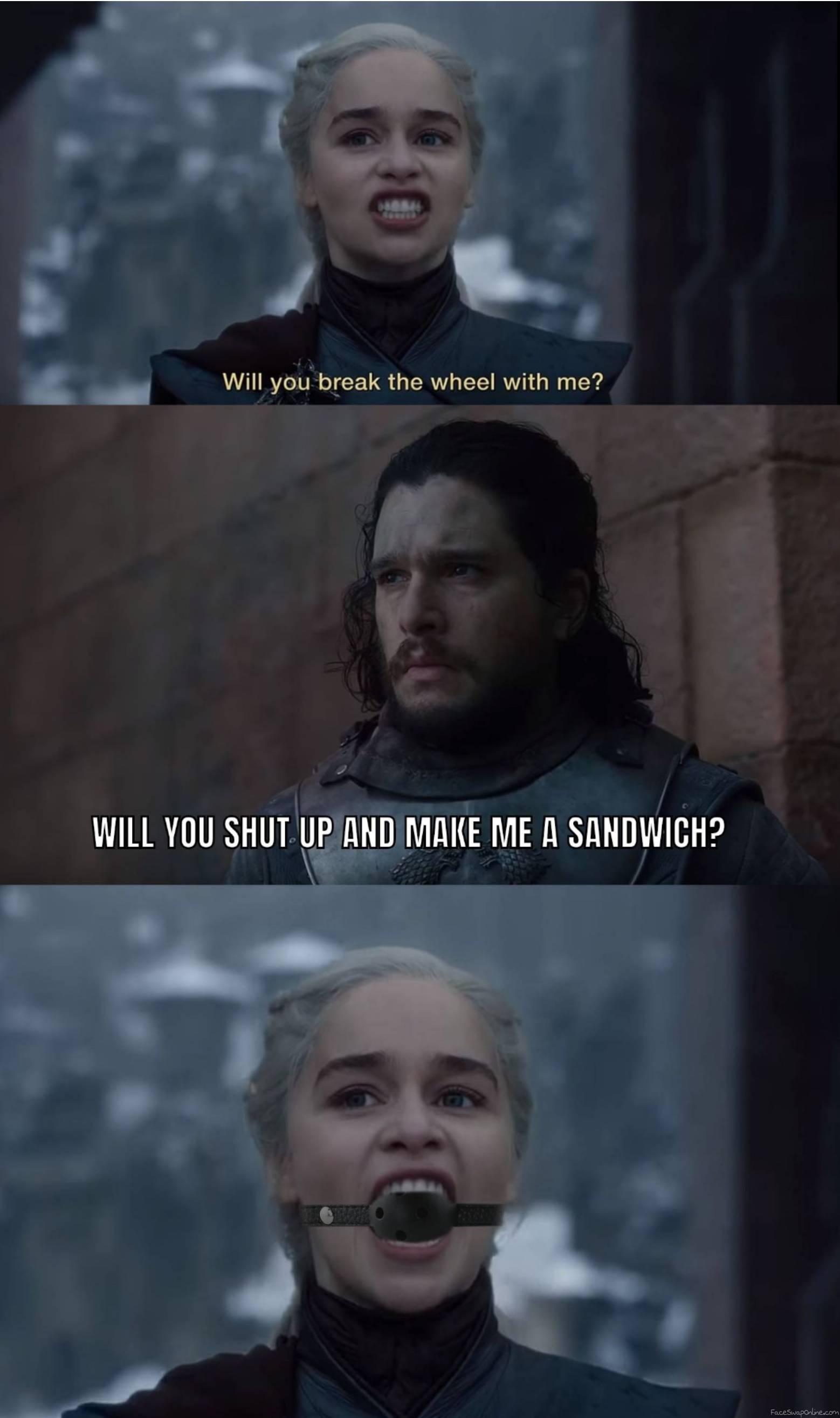 Daenerys Targaryen gone mad