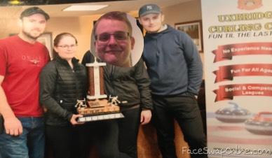 Matt wins first year