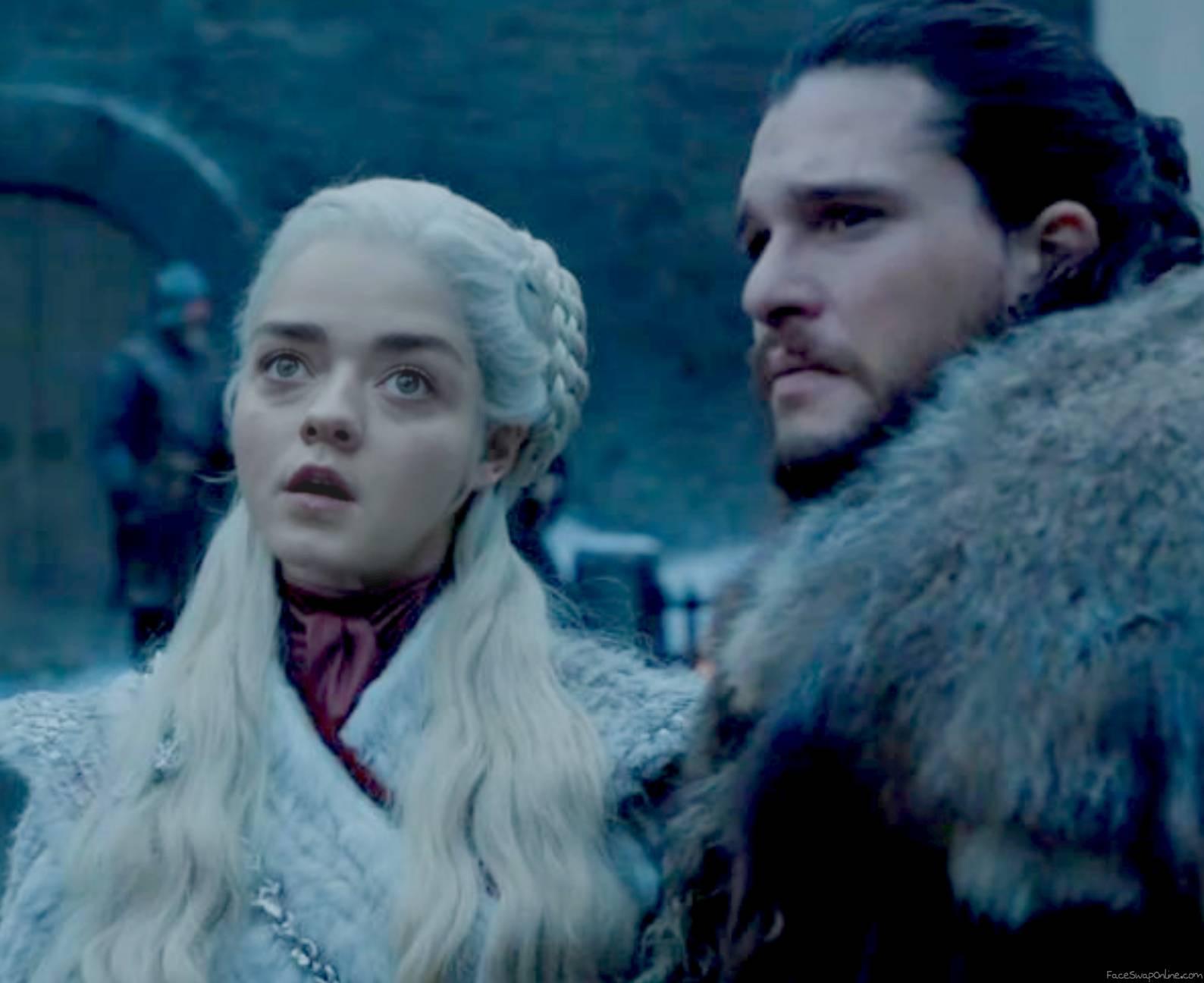 Queen Arya Stark Targaryen
