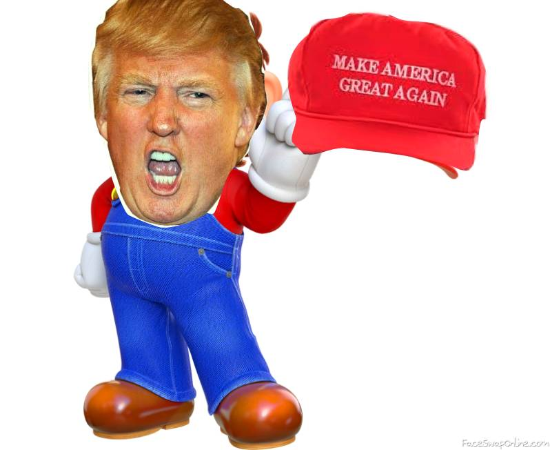 Super Mario Odyssey. More Like Super Trump Odyssey