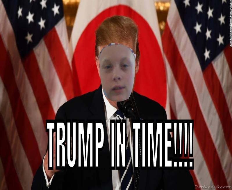 TRUMP IN TIME!!!