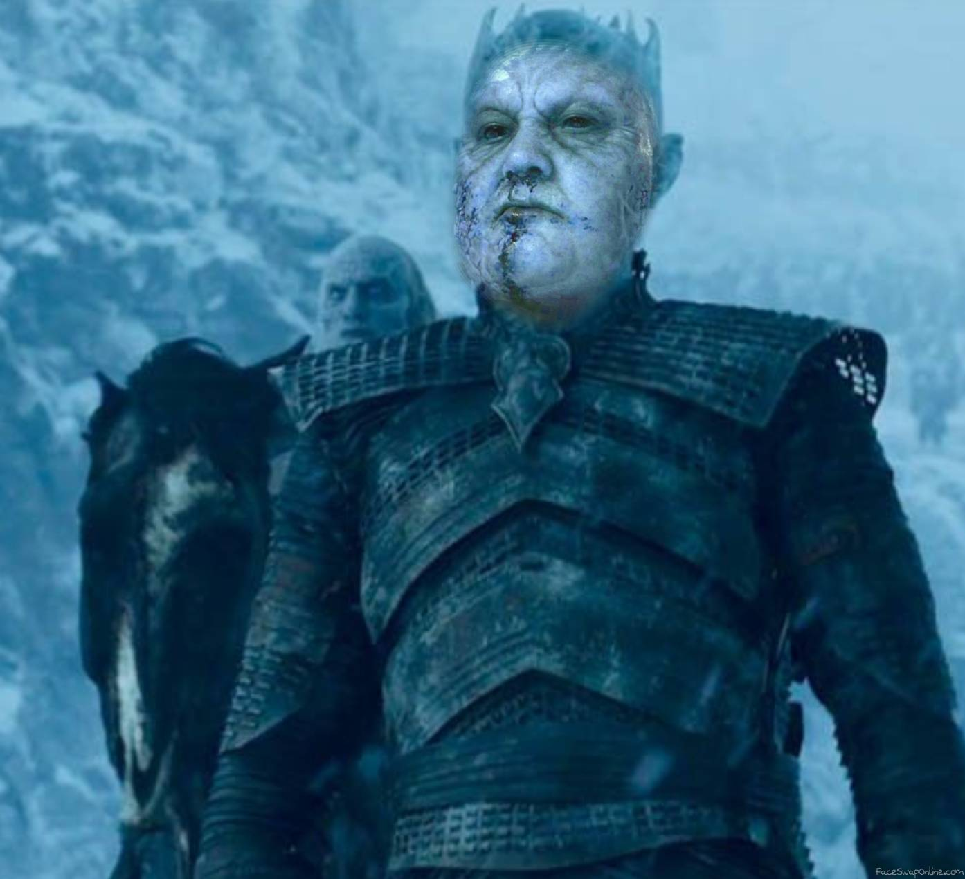 The Mountain becomes the Night King