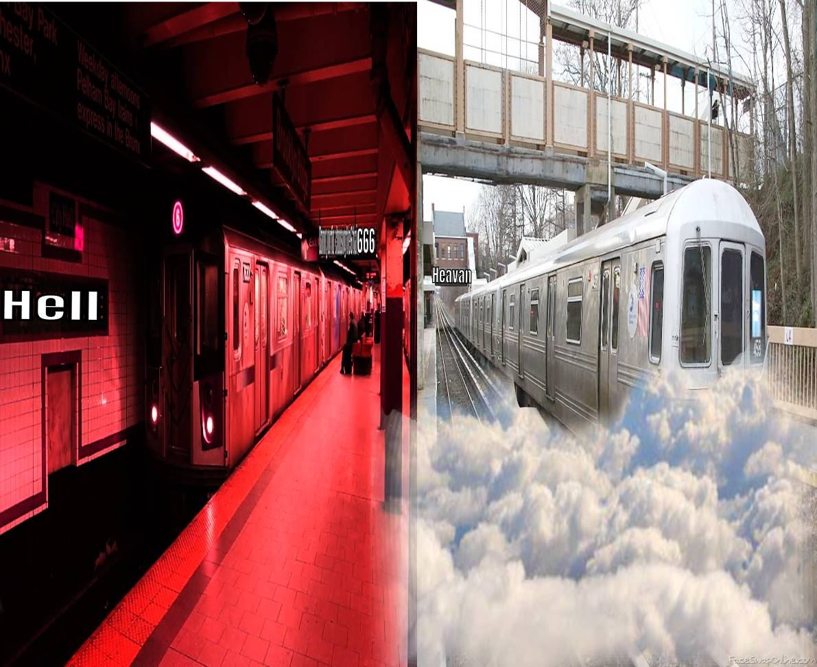 Trains to Heaven and Hell