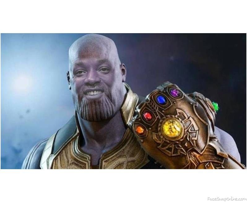 Will Smith as Thanos