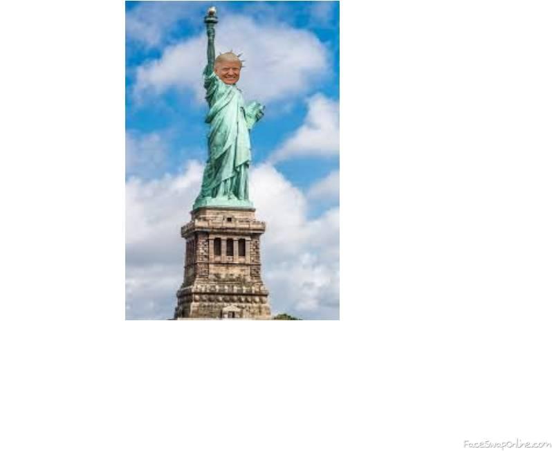 statue of trumpity