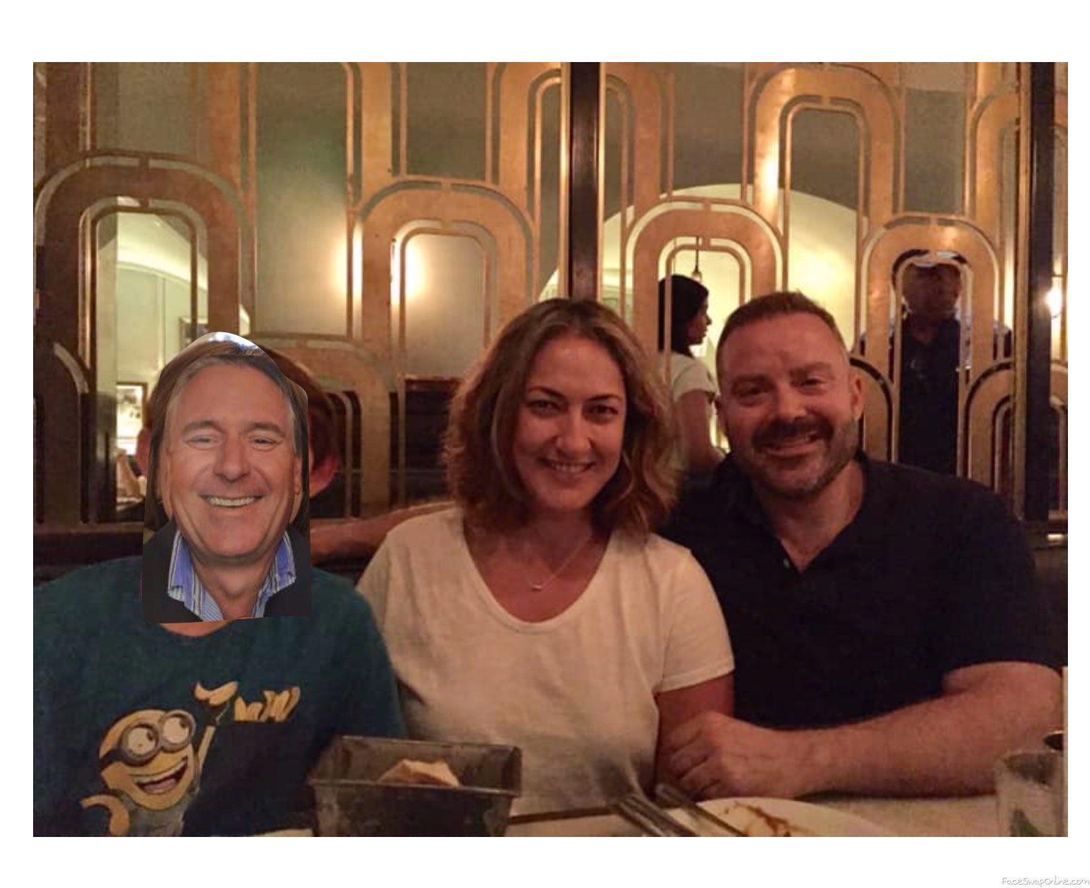 Last dinner in London