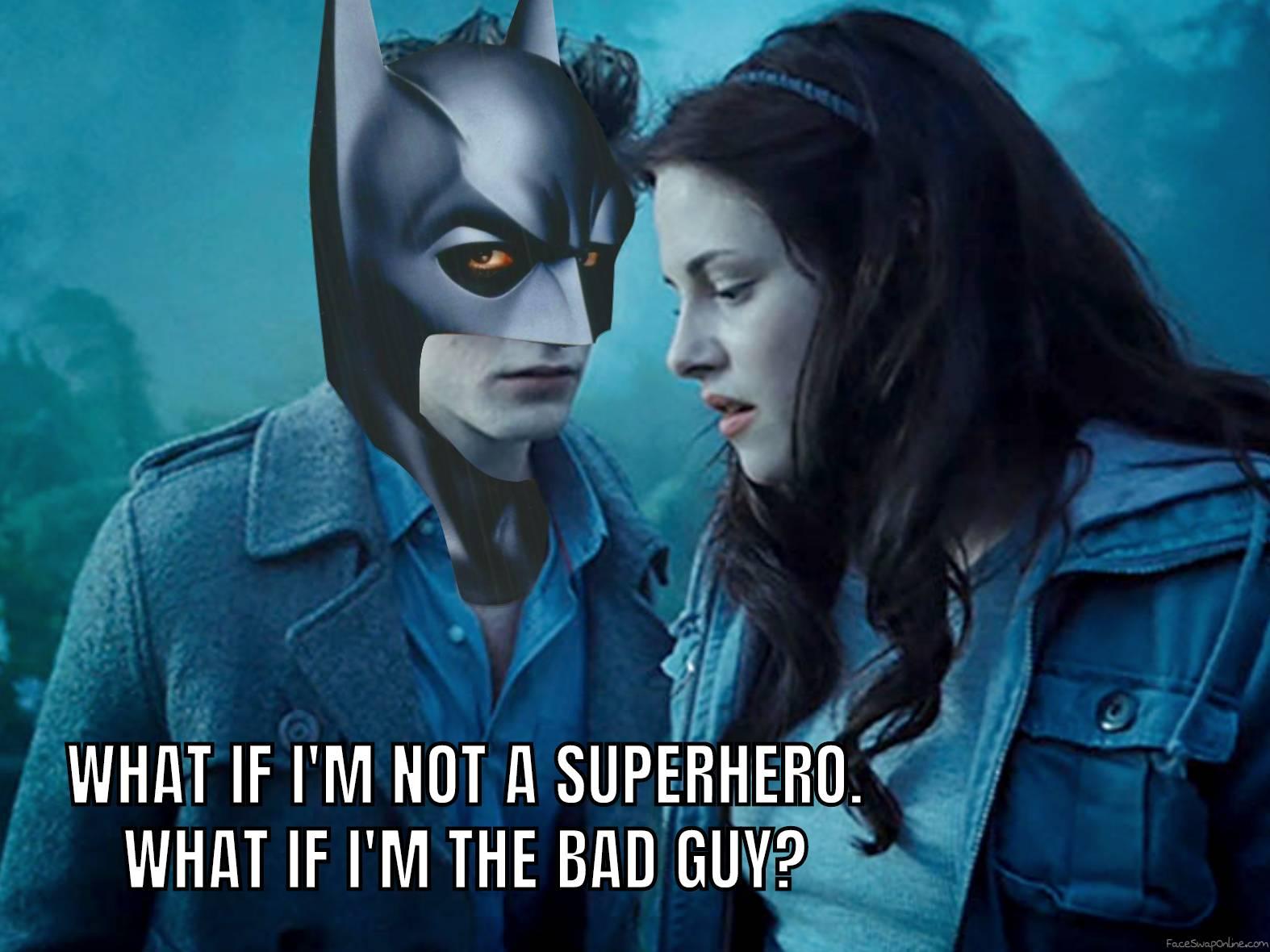 Robert Pattinson Batman vs Twilight