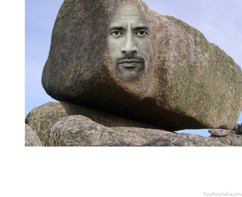 "Dwayne ""is a rock"" johnson"