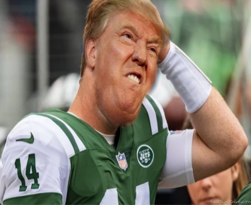 Darnold Trump mad