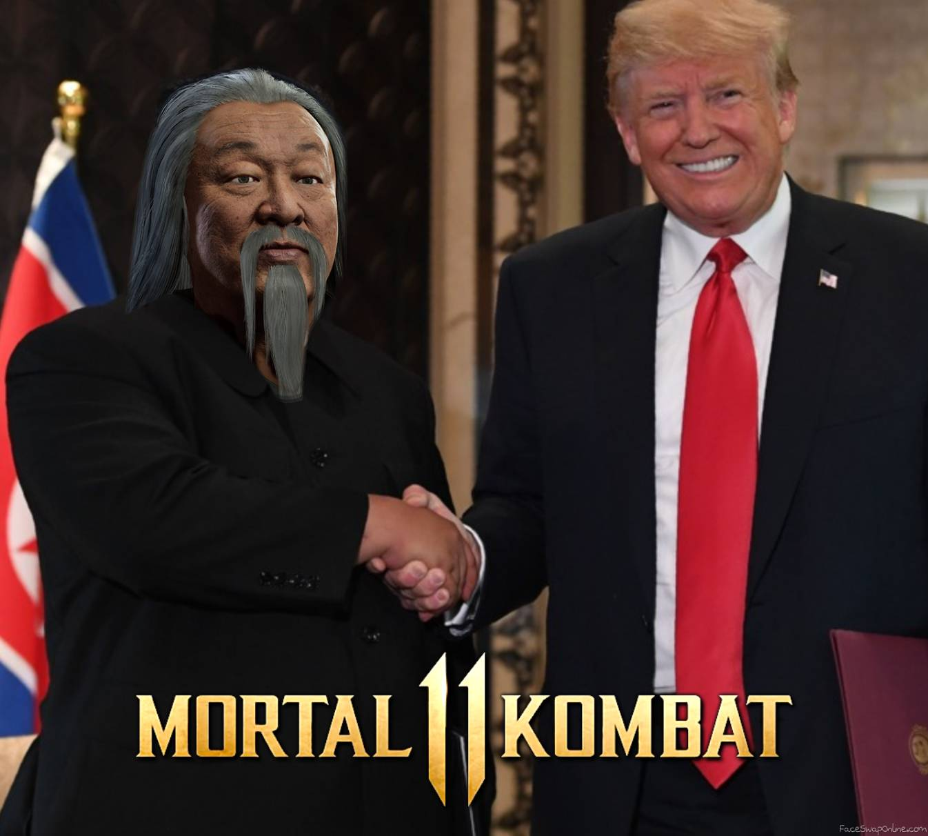 Shang Tsung VS Trump