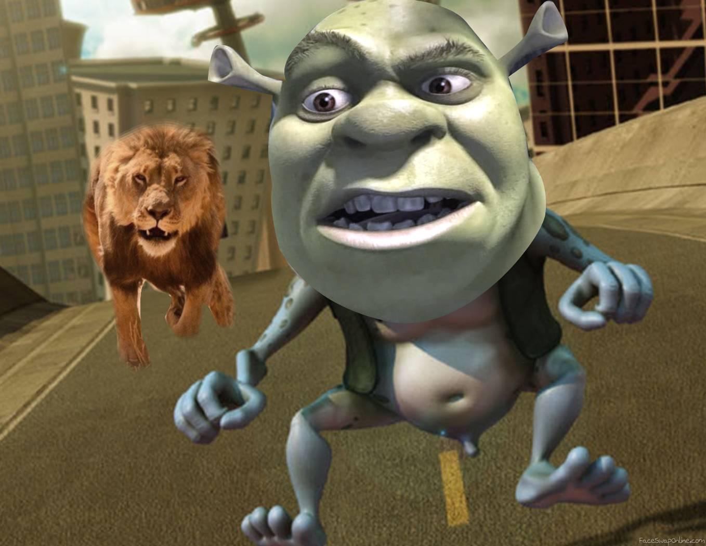 Crazy Shrek