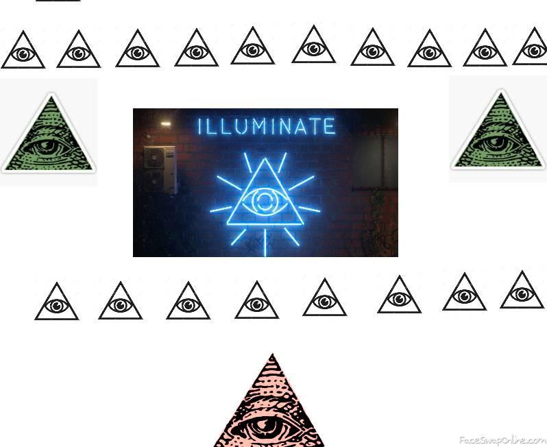 Illuminati shrine
