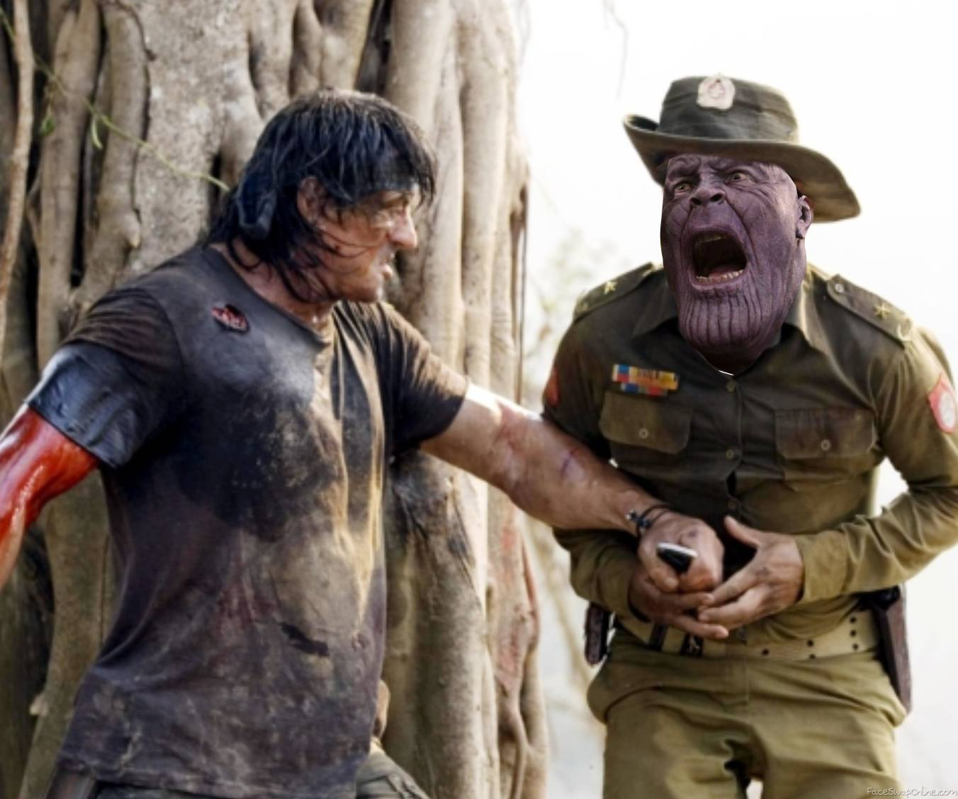 Rambo VS Thanos