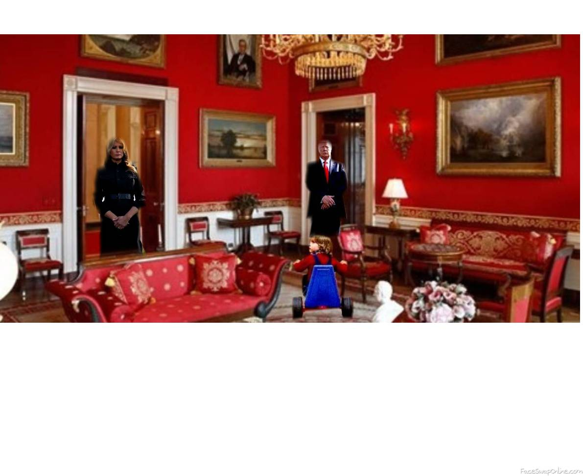 Red Room Trump WH