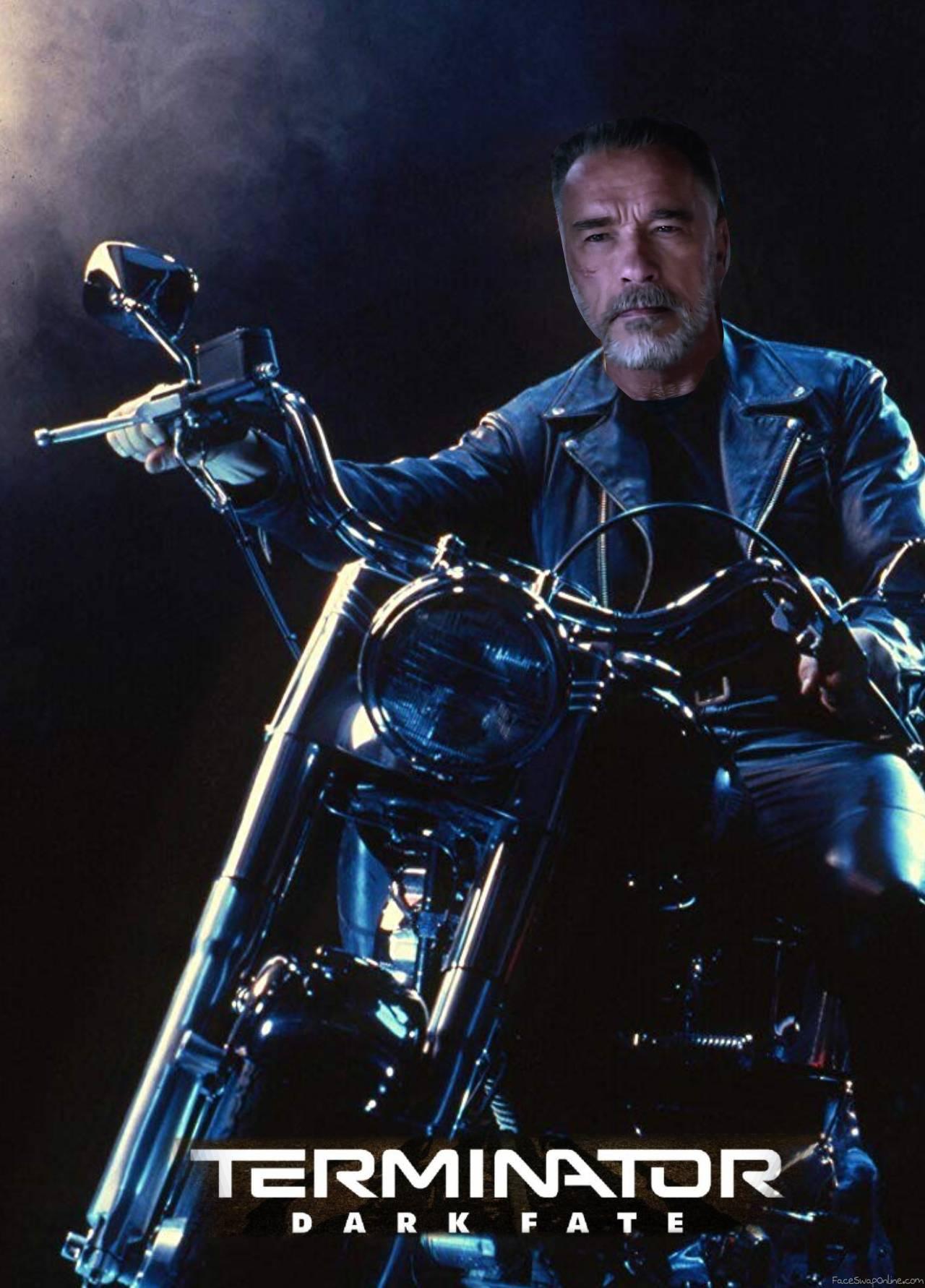 Terminator 6 Dark Fate poster