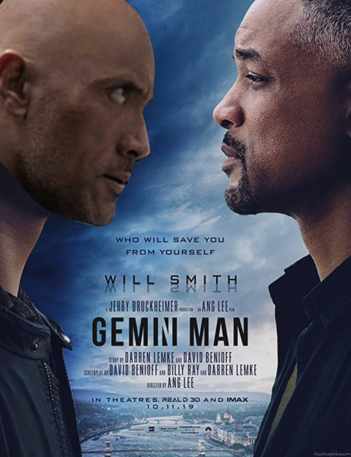 Gemini Man VS The Rock