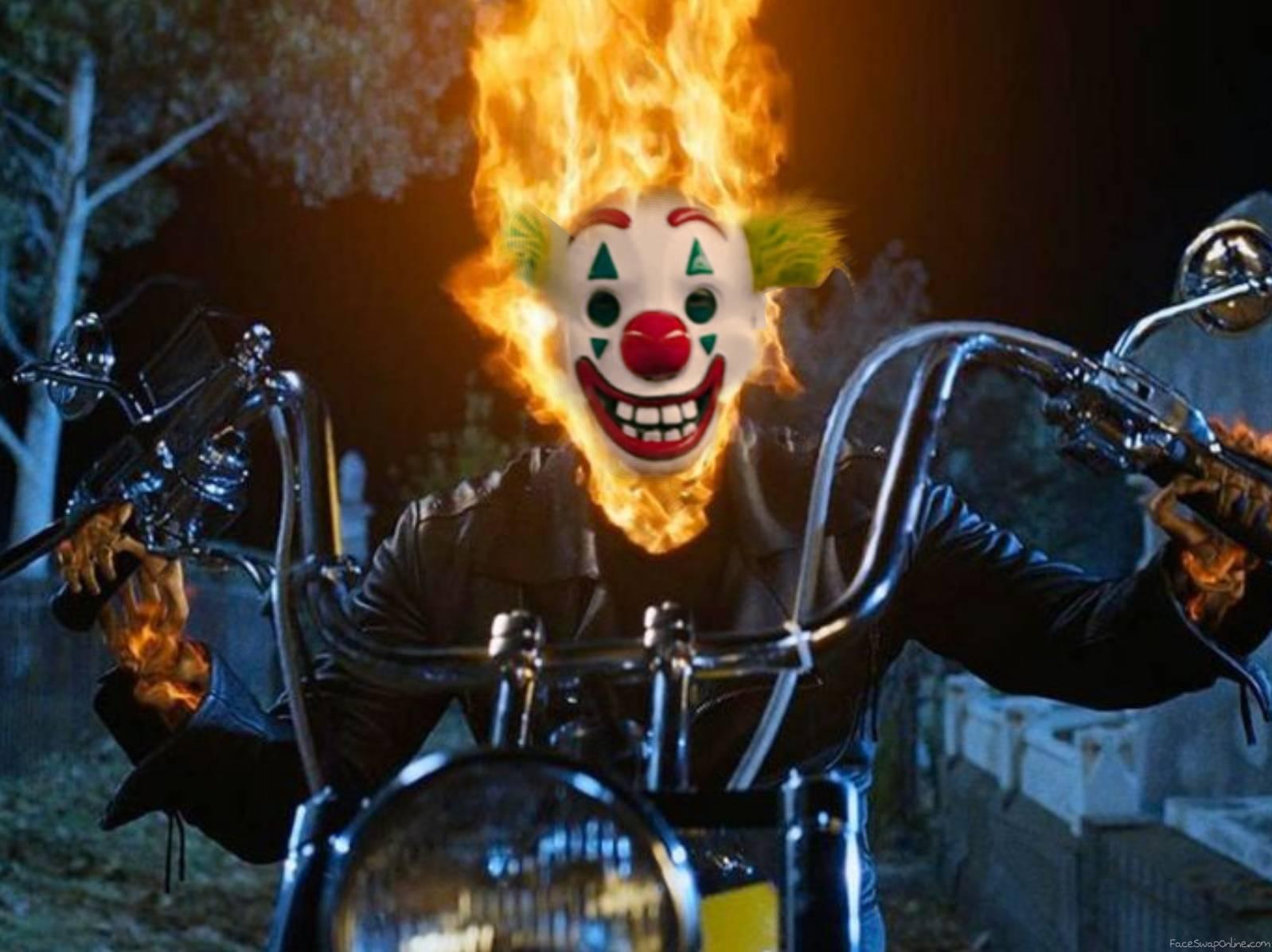 Joker face filter